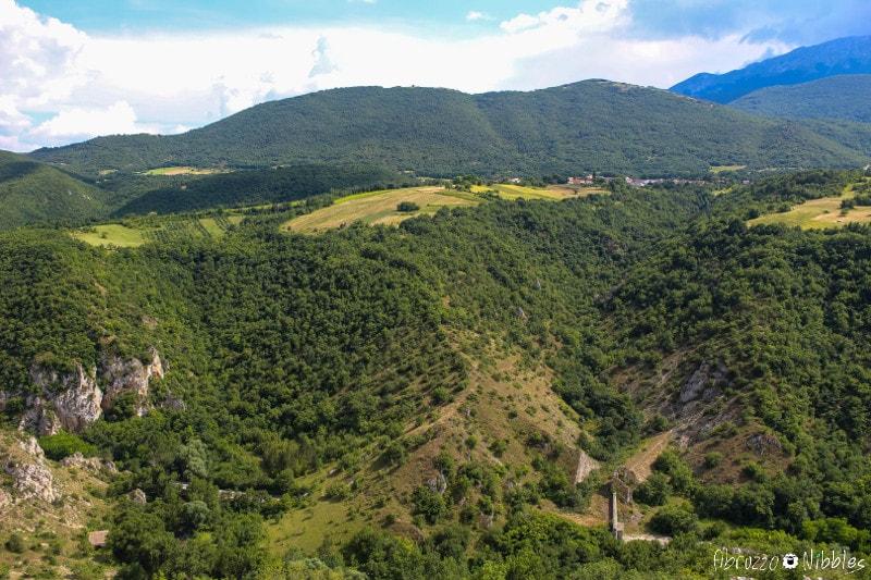 Panorama dalla Torre di Beffi