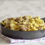 Agnello cacio e uova, piatto abruzzese delle feste