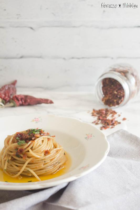 Spaghetti alla trappitara, ricetta tipica abruzzese