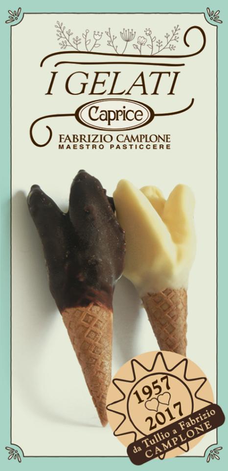 Il capriccio, il gelato inventato da Camplone a Pescara