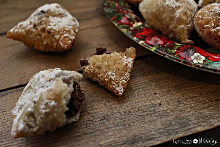I cagionetti, dolce tipico di Natale in Abruzzo